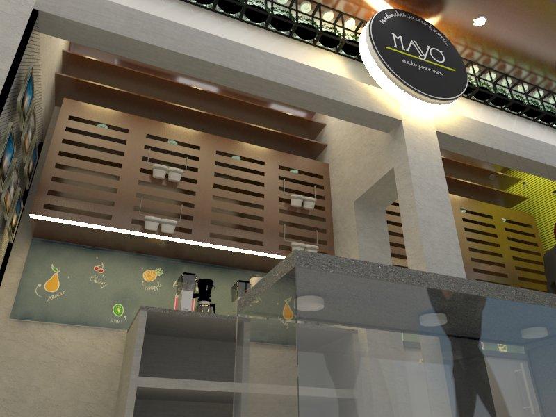 Juices & Shakes (Mayo) Interior Designing