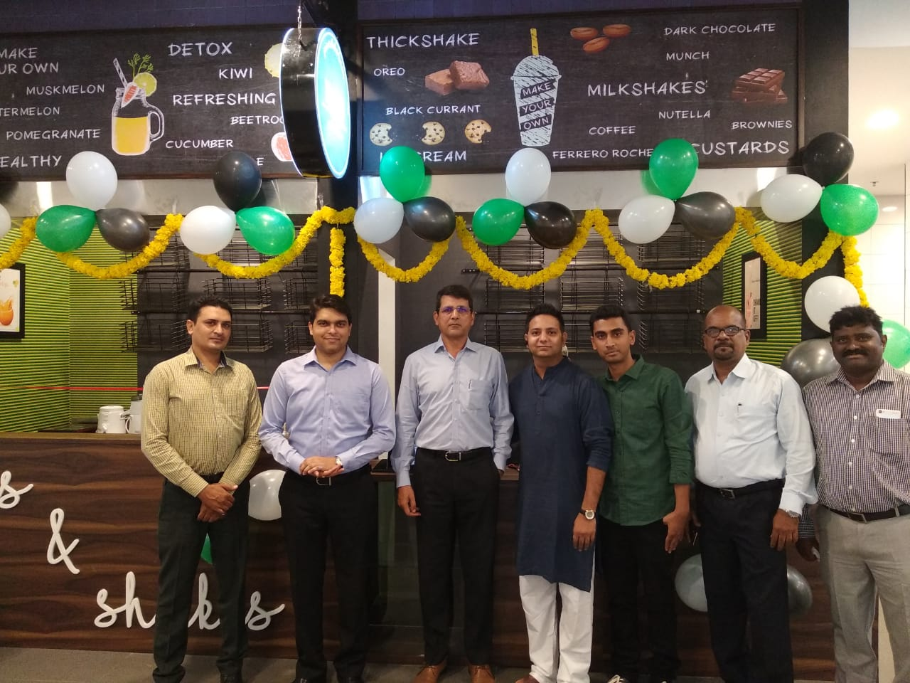 Juices & Shakes Opening Ceremony